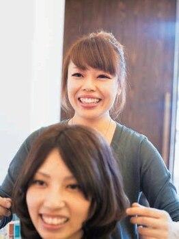 ヘアークラフト リアン(Hair craft Le Lien)の写真/[庄町]こだわりが散りばめられたプライベートサロンLien。ずっと居たくなるようなほっこり空間で癒されて♪