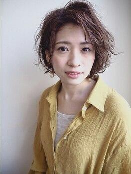 ビレップ(BIL'EP)の写真/【大人の女性の髪にご褒美カラーコース¥12100☆】経験豊富な女性スタイリストが必ず担当。
