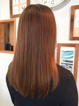 クノップ ヘア(KNOPP hair)の写真/岡山でも希少な【レルミストリートメント取扱サロン】頭皮・髪をしっかりケアし、憧れのうるツヤヘアに♪