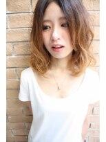 【natti☆】ミディアムグラデーションカラー☆0927392223