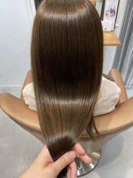 トリート 浦安店(TREAT HAIR DESIGN)の写真/トリートメントを越えた『Oggiotto』の髪質改善ヘアエステ★髪の潤い/手触り/艶感をKeep_浦安