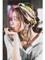 ウェントス ヘアデザイン(VENTUS Hair design)スカーフアレンジ