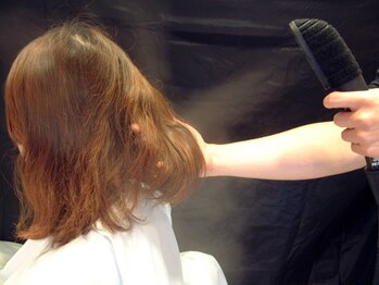 アムズヘアー 本厚木店(AM'S HAIR)の写真/organicとケミカルからあなたの好みに合わせてチョイス◎スチーム使用だから髪の内部まで浸透♪【本厚木】
