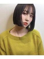 ルッツ(Lutz. hair design)ツヤ感 ナチュラルボブ