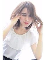 ヘアーサロン エール 原宿(hair salon ailes)(ailes原宿)style246 くびれミディ☆ミディアムマロン
