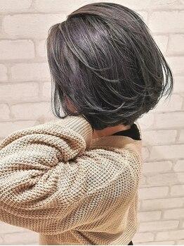 ヘアー アンド ケア コットン(Hair&care cotton)の写真/〈丸みショート・ハンサムショート・小顔カット〉季節感やライフスタイルに合わせスタイルをご提案♪
