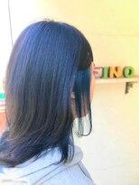 ヘアーメイク アフィーノ(hair make affino)個性×青