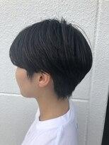 ケーオーエスビューティー(K O S beauty)黒髪×ハンサムショート