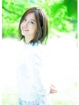 オゥルージュ(Au-rouge noma)【aurouge noma 石井美紗紀】ハイライトで立体感*ナチュラルロブ