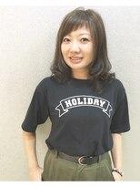 シャンプーボーイ 宮崎駅前店(SHAMPOO BOY)透明感アッシュ~アシメバングでかわいらしく~
