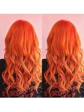 ヘアサロン トミー(Hair salon TOMMY)オレンジカラー