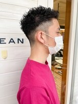 [OCEAN Hair&Life]くせ毛/2ブロック/フェード/ベリーショート/