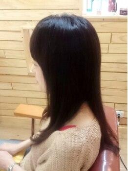 ヘアールーム アイロネア(Hair Room Aironea)の写真/広がり/パサつきが気になる方に【コスメストレート+CUT+トリートメント】クーポン有♪傷まず収まる髪に◎