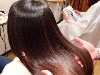 アンバー ヘアー クリエイト(Amber Hair Create)の写真/傷んだ髪の解決法は切るだけじゃない!豊富なケアメニューを取り揃える《Amber Hair Create》にお任せ♪