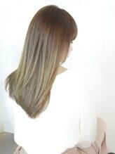 レクリヘアー(RecRe hair)【RecRe hair】ADMIOカラー×アッシュベージュ