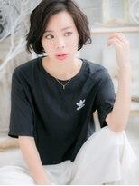 ■mod's上尾6-10★■黒髪がso cool !大人かわいいラフボブ