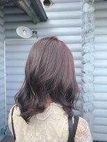 クレエ ヘアー デザイン(creer hair design)秋冬おすすめパープルグレージュ