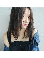 フェス カットアンドカラーズ(FESS cut&colors)『FESS 鶴丸』【大人かわいい無造作ヘア×オリーブグレージュ】