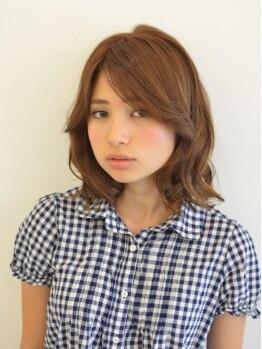 スーズ(suze)の写真/【東銀座4番出口すぐ☆】技術、知識を兼ね備えたスタイリストがマンツーマンで貴方の髪に向き合います♪