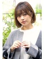 ルージュ(Rouge)【米倉和寿】ワンレン ワンカールボブ
