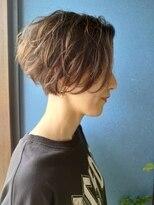 クブヘアー(kubu hair)《Kubu hair》大人クールなハンサムショート