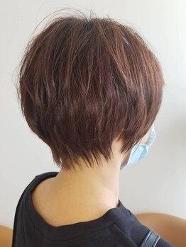 ピアリ サクラノ(Peri sakurano)の写真/[女性専用サロン]気分新しく春styleにチェンジ!細部までこだわった再現性の高いカット技術で扱いやすさ◎