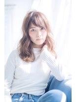 ロンド フィーユ(Lond fille)【Lond fille】秋のプラチナマロングレージュ☆