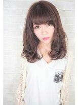 ヘアーブランド リンク 三宮店(HAIR BRAND Link)【Link】ピンクブラウン×ニュアンスウェーブ