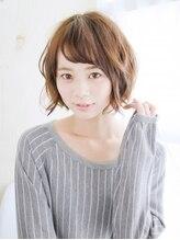 ヘアメイク ナル(hair make nalu)透け前髪が可愛い丸みバルーンボブ