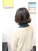 ブレスヘアーデザイン(BLESS HAIR DESIGN)ゆるふわボブスタイル