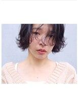 アンバースデー(UNBIRTHDAY)ショート/くせ毛風パーマ/ウェーブ【大成 志織】