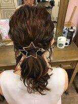 ヘアセットサロン アトリエ チャイ(Hair set salon atelier CHAI)ナチュ可愛ローポニー