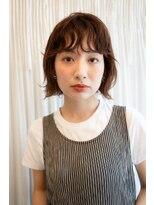 マグノリア オモテサンドウ(MAGNOLiA Omotesando)前髪が決め手!ニュアンスボブパーマ・・・担当KAYO