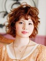 リーズ(Lise)【ゆるふわマッシュボブ】/【イルミナカラー】【ブリーチ】