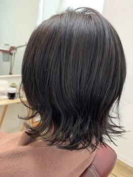 スタジオエヌ(Studio N)の写真/女性スタイリストのマンツーマンで居心地の良いサロンタイム☆1か月ケア通い放題で大人髪を健やかな美髪に