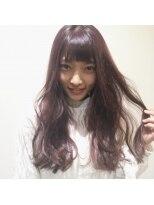 ミンクス ハラジュク(MINX harajuku)外国人風カラーが得意なMINX藤田昂補 ペールピンクカラー