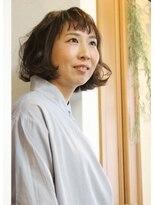 オーガニックサロン フェイス 茶屋町店(organic salon face)大人女子の軽やかニュアンスボブ☆