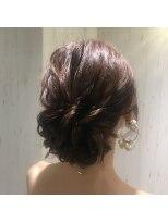 ラ ブランシュ 大宮(La Blanche)パーティーアレンジ/大宮美容室/韓国ヘア/髪質改善