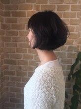 ヘアーオブジェ 末広店(Hair OBJET)骨格補正のモテボブスタイル