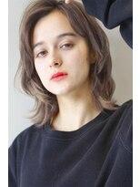 ヘアサロンガリカアオヤマ(hair salon Gallica aoyama)『 グレージュ』×『 ウルフ 』 外国人風 小顔 セミディ ☆
