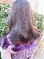 ネオヘアー 曳舟店(NEO Hair)裾パープルcolor