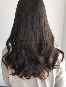 シェルパ(SHERPA)の写真/【岐阜】お客様の10年後を考えた施術が好評!低刺激のオーガニックミネラルカラーは髪にも頭皮にも優しい◎