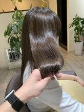 美髪エステサロンイチゴイチエ(1518)髪質改善カラーエステ→Beforeはクリック