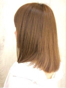 チップラグ(chip lag)の写真/《髪の悩みを改善》クセが気になる方は、毛先まで自然なストレートを創るchip lagの縮毛矯正で美髪に◎