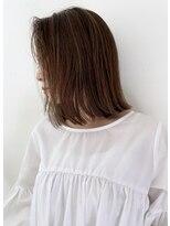 リコ ヘアアンドリラクゼーション(LICO HAIR&RELAXATION)肩上切りっぱなしロブ
