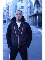 オムヘアーフォー(HOMME HAIR 4)外国人風サイドパートフェード【HOMME HAIR 4 熊田 水道橋】