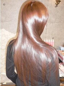 ラフェンテ(la fente)の写真/《完熟ミネラル》配合のカラー&パーマが魅力★今までにない贅沢なツヤと髪本来の美しさを取り戻します♪