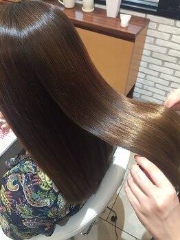 ヘアメイク パッセージ(hair make passage)の写真/【TV/メディア/SNSで話題のサイエンスアクア取扱い店】キューティクルを補正し美しく艶やかに♪今だけ¥8800