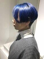 チクロヘアー(Ticro hair)ticro大石ブルーショート