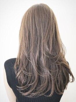 トリート 浦安店(TREAT HAIR DESIGN)の写真/『光色イルミナカラー』TREATでしか味わえないトレンドカラーを演出♪感動の仕上がりに☆_浦安